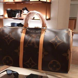 Louis Vuitton giant keepall 50 new